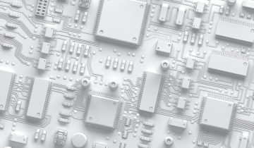 Abstract Circuit Board